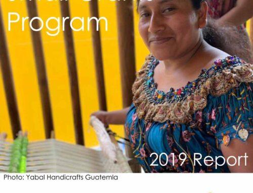canvas home Small Grant Program Report 2019